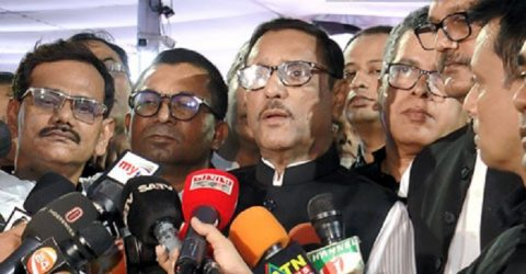 AL will resist communal forces, says Quader