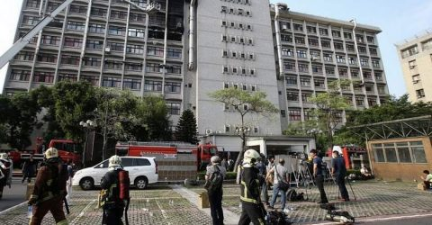 Nine killed in Taiwan hospice blaze