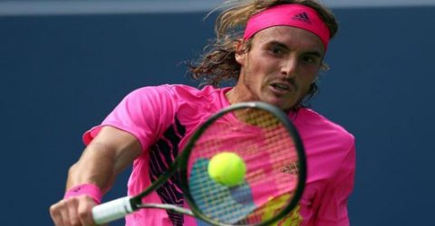 Greek chic: Tsitsipas stuns Djokovic in Toronto
