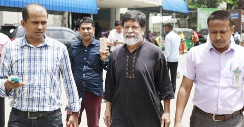 Shahidul taken back to DB custody from BSMMU