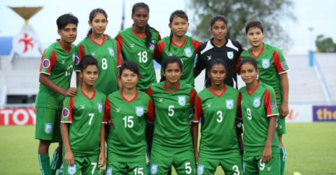 Bangladesh face Nepal in SAFF U-15 Women's Championship tomorrow