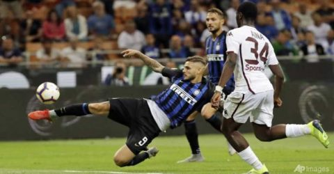 Inter Milan lose ground in Serie A with Torino stalemate