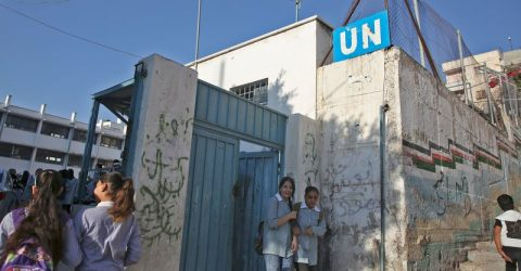 US end funding for UN Palestinian refugee agency