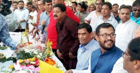 Awami League holds joyous rally and discussion in Dhamrai