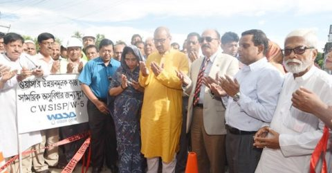 CCC mayor inaugurates water supply development and sanitation project