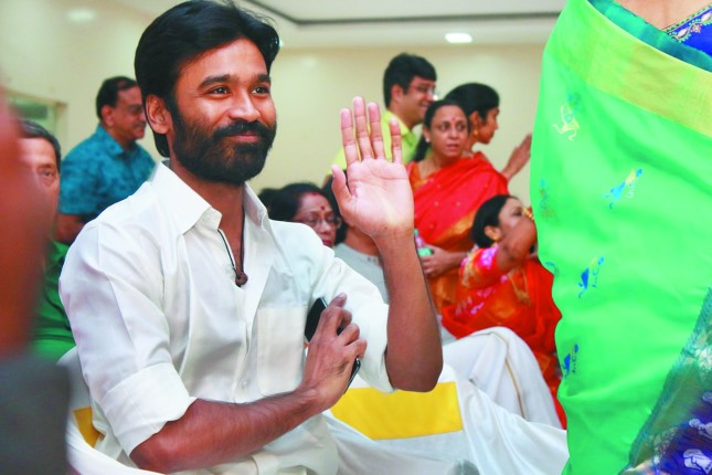 Dhanush's second directorial goes on the floors