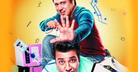 Govinda is back in his element with this quirky comic caper