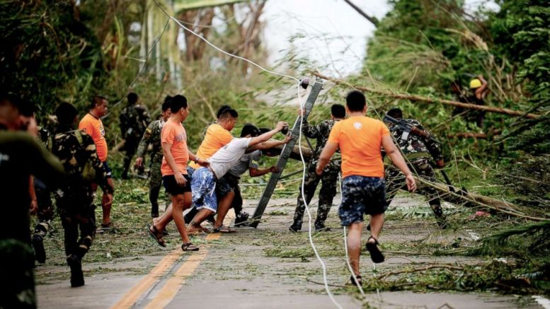 Philippines typhoon death toll jumps to 49: police