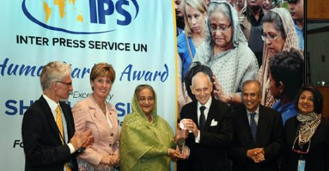 PM receives 'Int'l Achievement Award' & 'Special Distinction Award for Outstanding Leadership'