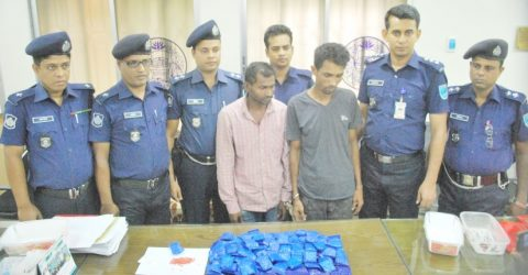 2 held with 24,000 yaba pills Narsingdi