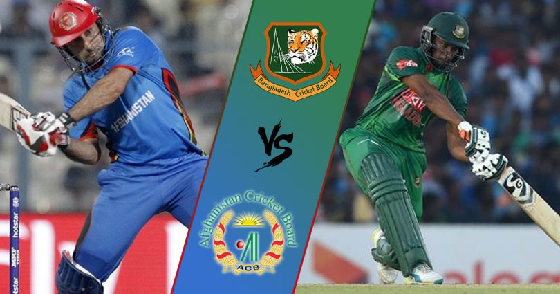 Afghanistan win toss, elect to bat against Bangladesh
