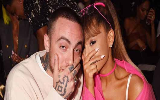 Ariana Grande pays tribute to rapper ex-boyfriend Mac Miller