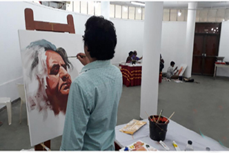 Artist camp held marking Shahabuddin's birthday