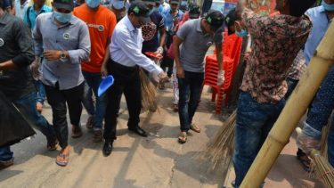 Clean Our Country Day' observed in Rajshahi
