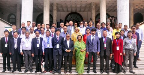 Int'l Conference  begins at DU