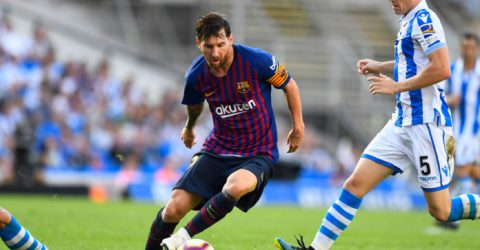 Barcelona fight back to beat Real Sociedad, Real held in Bilbao