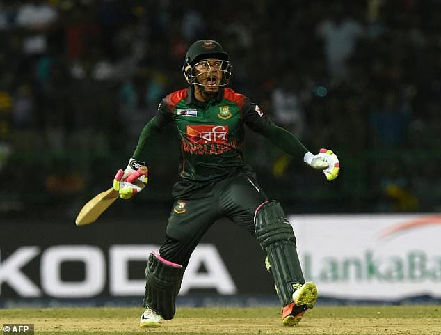 Mushfiqur century leads Bangladesh to big victory over Sri Lanka