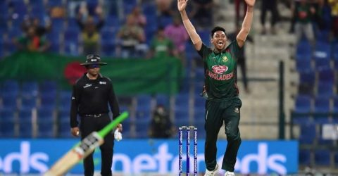 Bangladesh beat Afghanistan in last ball finish