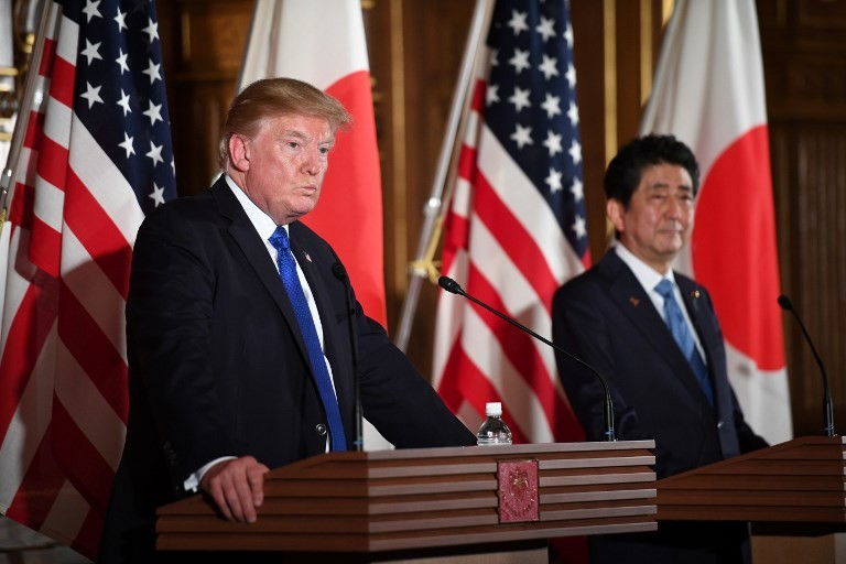 Trump meets Japan's Abe in NY ahead of UN assembly