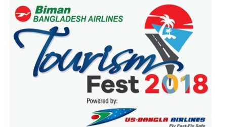 "3-day ""Biman Tourism Fest"" begins Sept 27"