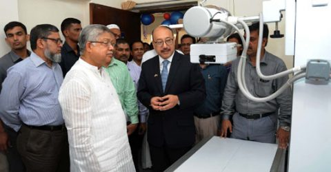 Indian HC hands over equipment to Central Veterinary Hospital
