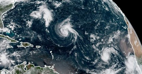 Hurricane Florence expected by Monday as more storms churn in Atlantic