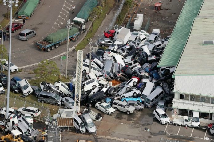 Japan toll rises to 35 after powerful quake