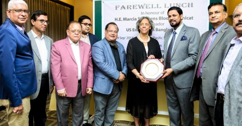 CCB hosts a farewell reception for the outgoing US ambassador