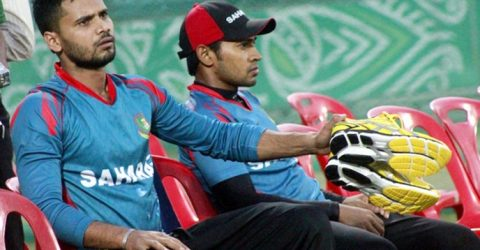 Mashrafe, Mushfiqur add to Bangladesh's injury worries