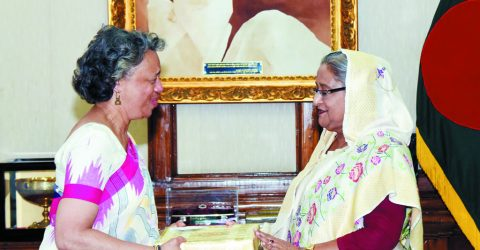 US support for BD's development to continue, Bernicat tells PM