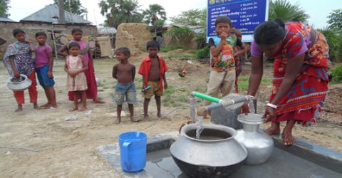 Drought-hit Barind people get safe drinking water