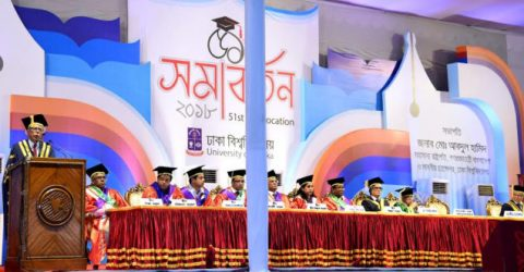 President asks varsity graduates to lead nation-building activities