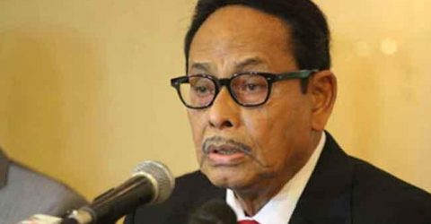 Ershad leaves for Singapore tonight