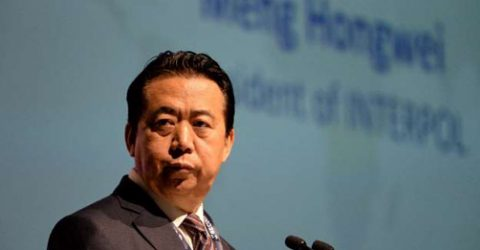 Chinese Interpol boss goes missing
