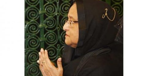 PM offers ziarat at Prophet (PBUH) at Masjid Al-Nabawi