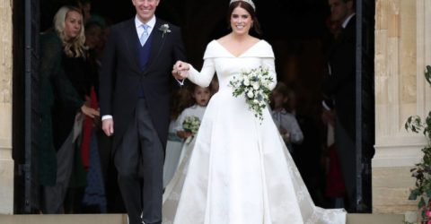 UK's Princess Eugenie marries wine merchant