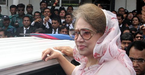 Khaleda's trial to continue in her absence: HC