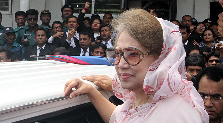 HC order on Khaleda's poll rejection appeals tomorrow