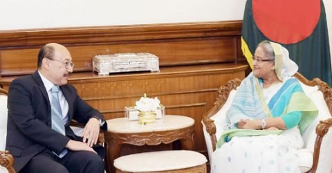 Shringla makes courtesy call on PM