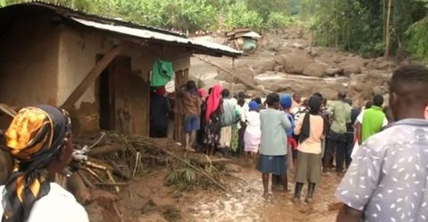 At least 34 dead after Uganda landslide