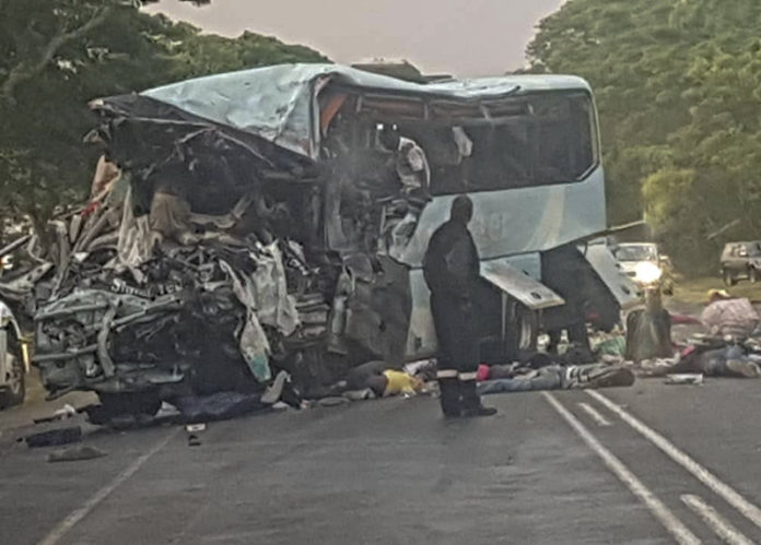 Death toll in Zimbabwe's horrific bus accident rises to 50