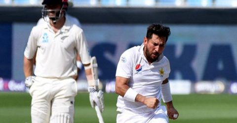 Yasir wrecks New Zealand to 90 all out in second Test