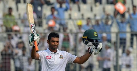 Mahmudulla shines as Bangladesh in driving seat in Dhaka Test
