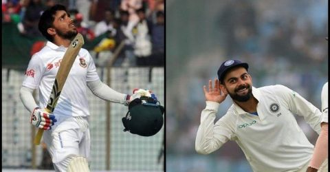 Classy Mominul does it better than Kohli