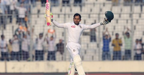Mushfiq becomes highest individual scorer for Bangladesh in Tests