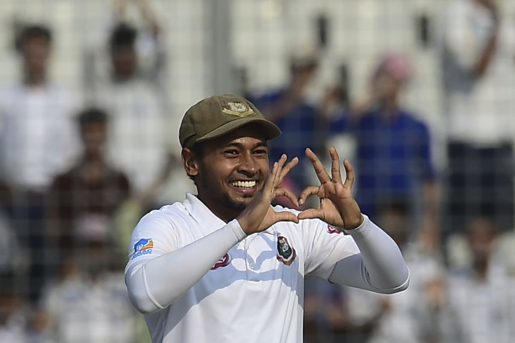 Tigers' take control after Mushfiqur hits record-breaking double tons