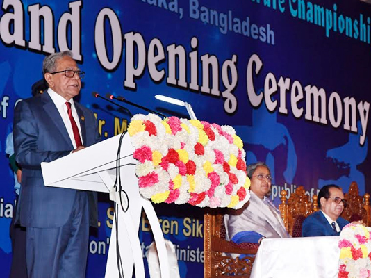 President for utilizing youngsters' potentials to attain success in sports