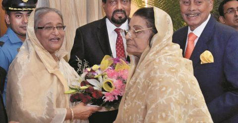 Ershad-led alliance sits in dialogue  with PM