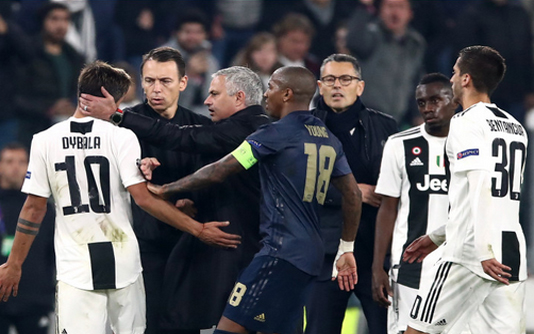 Mourinho claims he 'didn't insult' Juve in celebration row
