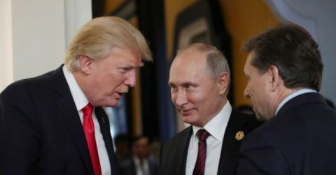 Kremlin says Putin, Trump to speak 'briefly' in Paris